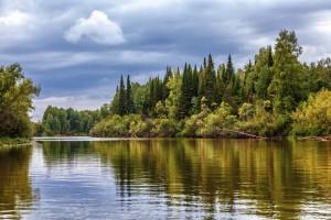 Sibirische Landschaft