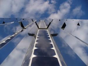 Solarmodule mit Spiegel