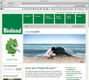 Bioland-Website