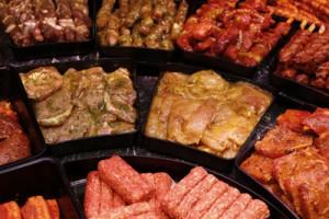 Fleisch in der Fleischtheke