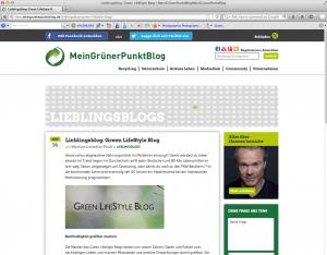 http://www.meingruenerpunktblog.de